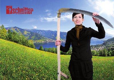 Schnitterin am Wolfgangsee