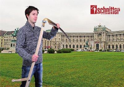 Schnitter am Heldenplatz