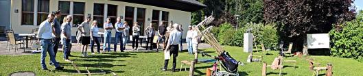 Sensenkurs von Schnitter in Strobl am Wolfgangsee