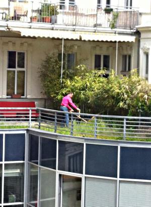 urban gardening, jardinage urbaine, Gärtnern in Wien
