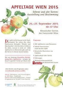 Schnitter auf den Apfeltagen 2015 in Wien, Botanischer Garten