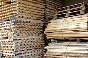Holz für Sensenwürfe