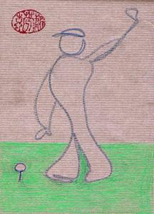 Golfer, alle Rechte bei Nikkolo Feuermacher 2017