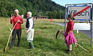 Sensenkurs von Schnitter.in bei Villach